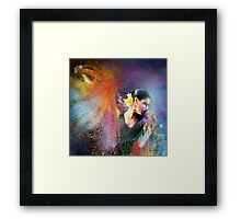 Flamencoscape 04 Framed Print
