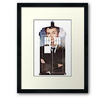 The Doctor Tee - Tardis T-Shirt Framed Print