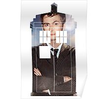 The Doctor Tee - Tardis T-Shirt Poster