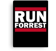 RUN FORREST Canvas Print