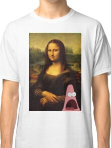 mona lisa... and patrick. Classic T-Shirt