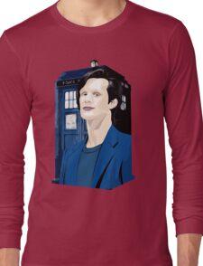 Blue Box Smith Cartoon Character Hoodie / T-shirt Long Sleeve T-Shirt