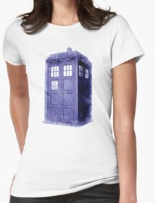 Blue Box Hoodie / T-shirt Womens Fitted T-Shirt