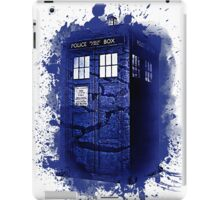 Scratch Blue Box Hoodie / T-shirt iPad Case/Skin