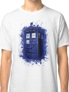 Scratch Blue Box Hoodie / T-shirt Classic T-Shirt