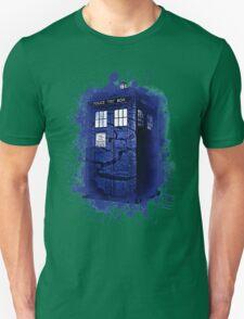 Scratch Blue Box Hoodie / T-shirt T-Shirt