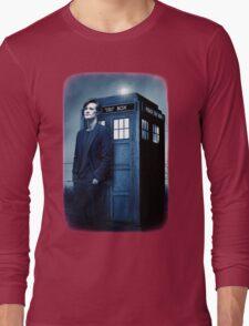 doctor smith tee Tardis Hoodie / T-shirt Long Sleeve T-Shirt