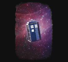Blue Box nebula Tee Tardis Hoodie / T-shirt by DarrellHo