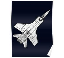Mig 31 Fighter Aircraft Poster