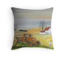 Time Served Throw Pillow