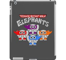 Teenage Mutant Ninja Elephants iPad Case/Skin