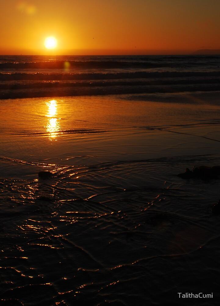 Sunset Beach by TalithaCumi