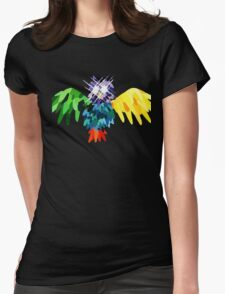 edited hooter Womens Fitted T-Shirt