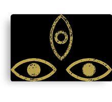 Three Eyed Raven Canvas Print