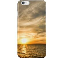 Late Fall Sunset in Sandford. iPhone Case/Skin