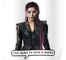 Blink - Too Glam to Give a Damn Poster