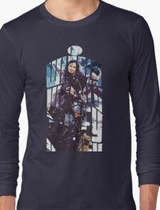 Dr. Who tardis Tee painting T-Shirt Long Sleeve T-Shirt