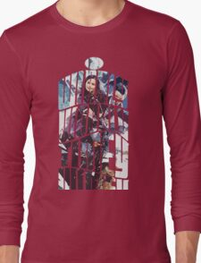 Dr. Who tardis Tee painting T-Shirt Long Sleeve T-Shirt