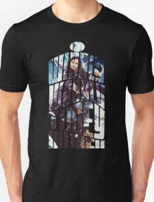 Dr. Who tardis Tee painting T-Shirt T-Shirt