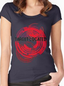 Target Located Women's Fitted Scoop T-Shirt