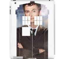 The Doctor Tee - Tardis T-Shirt iPad Case/Skin