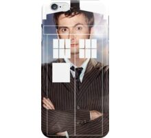 The Doctor Tee - Tardis T-Shirt iPhone Case/Skin