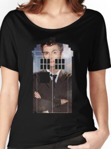 The Doctor Tee - Tardis T-Shirt Women's Relaxed Fit T-Shirt