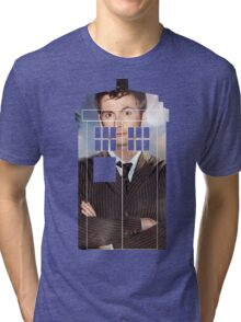 The Doctor Tee - Tardis T-Shirt Tri-blend T-Shirt