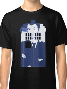 New Blue Box T-Shirt Tardis Tee Classic T-Shirt