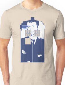 New Blue Box T-Shirt Tardis Tee Unisex T-Shirt