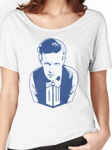 Get it Tee Of Character Dr. Who T-Shirt Women's Relaxed Fit T-Shirt
