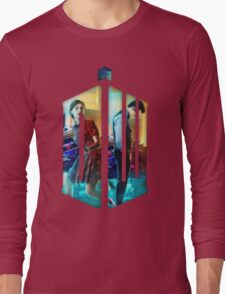 Dr. Who Fans Tee Character T-Shirt Long Sleeve T-Shirt