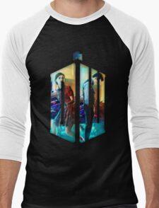 Dr. Who Fans Tee Character T-Shirt Men's Baseball ¾ T-Shirt
