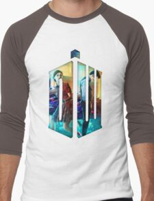 Dr. Who Fans Tee Character T-Shirt Men's Baseball ¾ T-Shirt
