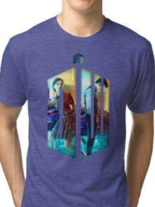 Dr. Who Fans Tee Character T-Shirt Tri-blend T-Shirt
