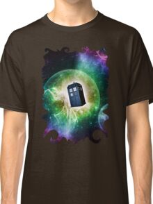 Universe Blue Box Tee The Doctor T-Shirt Classic T-Shirt