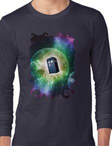 Universe Blue Box Tee The Doctor T-Shirt Long Sleeve T-Shirt