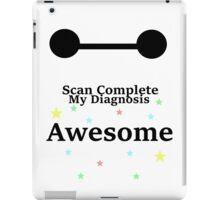 Scan Complete iPad Case/Skin