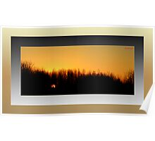 The Last Sunrise of 2007 (framed for wall art/prints) Poster