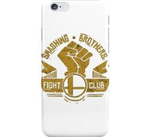 Smashing Brothers Fight Club iPhone Case/Skin