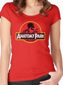 Anatomy Park - movie poster shirt Women's Fitted Scoop T-Shirt