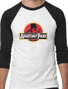 Anatomy Park - movie poster shirt Men's Baseball ¾ T-Shirt
