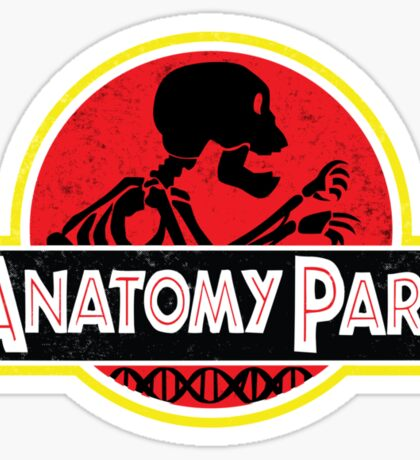 Anatomy Park - movie poster shirt Sticker