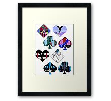 Mad T Party - White Framed Print