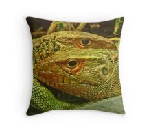 lizards Throw Pillow