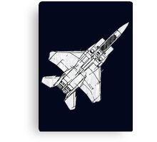 F15 Eagle Fighter Plane Canvas Print