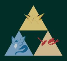 The Legendary Birds Triforce by Romantically