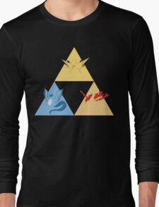 The Legendary Birds Triforce Long Sleeve T-Shirt