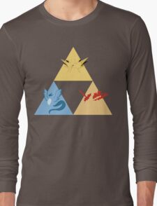 The Legendary Birds Triforce Long Sleeve T-Shirt