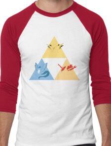 The Legendary Birds Triforce Men's Baseball ¾ T-Shirt